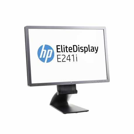 "LCD HP 24"" E241i; black/gray, A-"