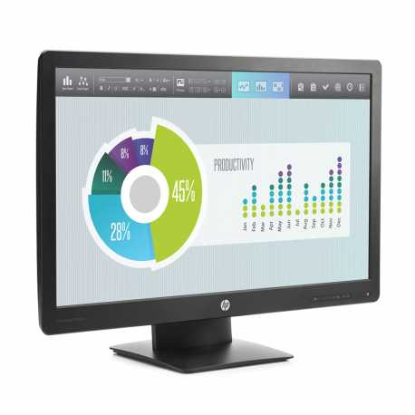 "LCD HP 24"" P240VA  black, A-"