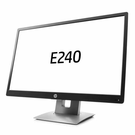 "LCD HP 24"" E240  black/silver, B+"